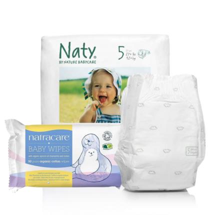 Couches et Lingettes pour bébé