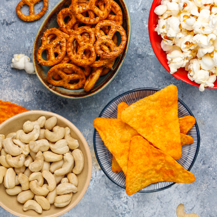 SNACKS, NUTS AND SWEETS